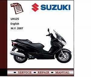 Suzuki Uh125 Burgman 125 Workshop Service Manual