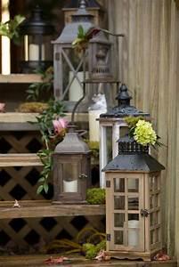 Grande Lanterne Deco : lanterne jardin 47 id es d co de jardin avec des lanternes ~ Teatrodelosmanantiales.com Idées de Décoration