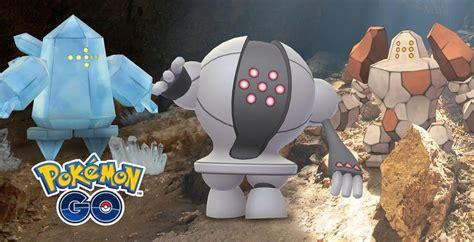 legendary regice   raid boss  pokemon