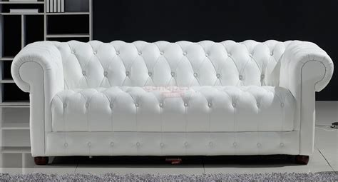 canapé cuir blanc convertible photos canapé chesterfield convertible cuir blanc