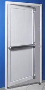 serrure anti panique 1800 premium la securite en toute eleg With porte de garage enroulable avec serrure anti panique