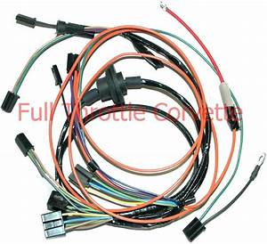 1969 Corvette Air Conditioning Ac Wiring Harness New