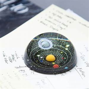 Solar System Paperweights : desk paperweight