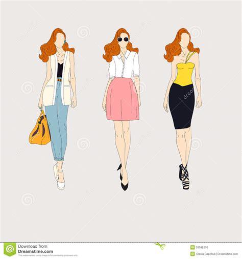 di moda vestiti di moda da disegnare