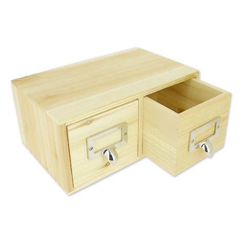 boite de rangement en bois patchwork family 22x14 cm naturel x1 perles co