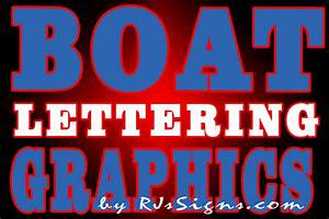 Boat lettering installation vinyl graphics from cut to for Vinyl graphic lettering