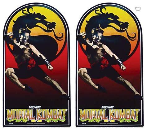 Mortal Kombat Arcade Cabinet Decals mortal kombat midway cabinet decals 2 31 1715 marco