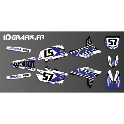 kit deco yz 125 kit decoration yamaha 60th replica edition yamaha yz yzf 125 250
