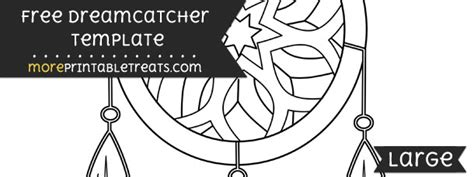 Dreamcatcher Template by Dreamcatcher Template Large