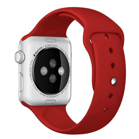 apple  mm sport band strap red pdair