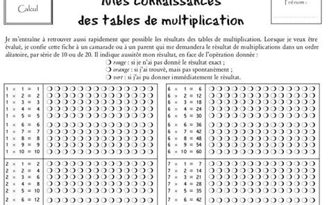 table de multiplications familynet overblog
