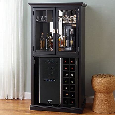 firenze wine  spirits armoire bar   bottle