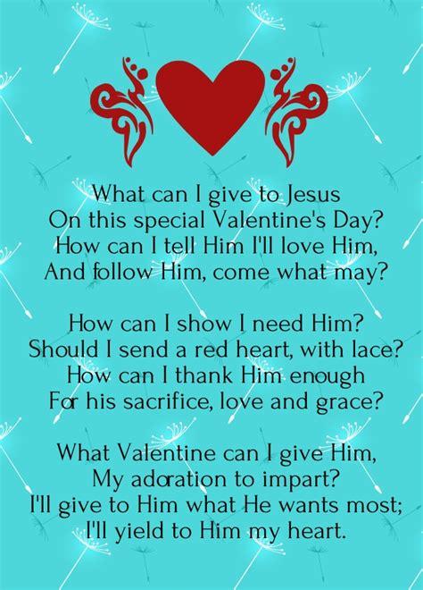 Christian Valentine Day Poems