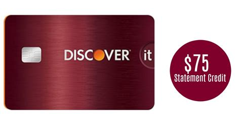 $75 Statement Credit with Discover it Card :: Southern Savers