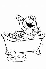 Coloring Bath Pages Clipart Bubble Elmo Clean Bathtub Drawing Street Clip Sesame Books Were Fresh Printable Kidsdrawing Adult Sheets Rylee sketch template