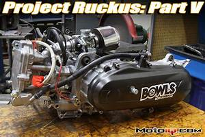 Project Honda Ruckus Part 5  Engine Bottom End
