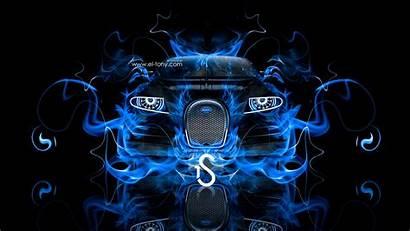 Bugatti Cool Wallpapers Fire Neon 4k Tony