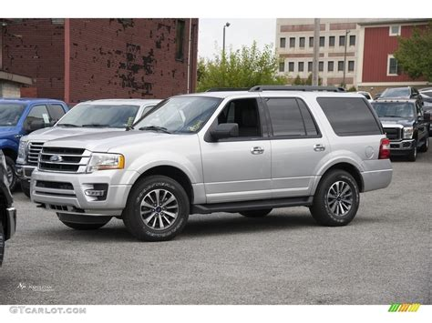 expedition 6647mcltbbasl silver 2017 ingot silver ford expedition xlt 4x4 115812984
