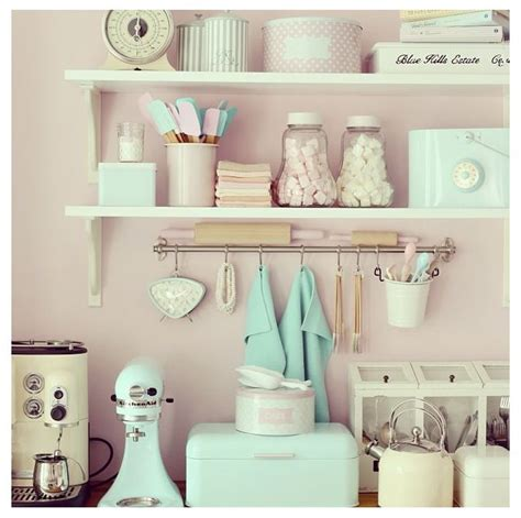 Pastel Kitchen Accessories  { Spectacular+colorful