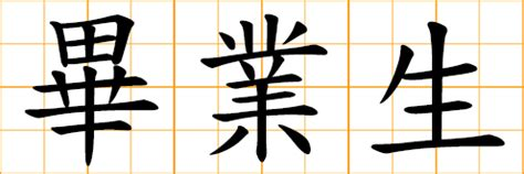 chinese symbol business profession trade work