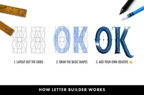 Letter Builder by Letter Builder Draw Letters With Ease Ian Barnard