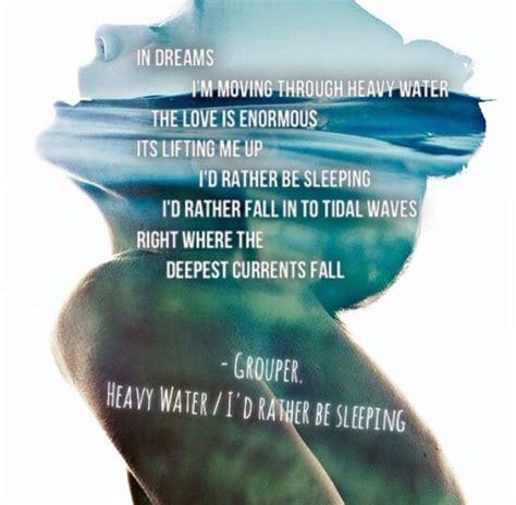water heavy grouper