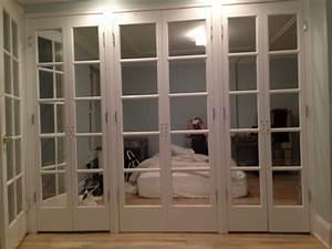 mirrored french closet doors Roselawnlutheran