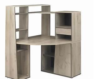 Bureau Enfant Avec Rangement : bureau ado avec rangement bureau angle verre lepolyglotte ~ Melissatoandfro.com Idées de Décoration