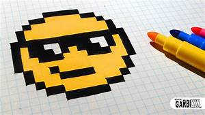 Pixel Art Manger : handmade pixel art how to draw the sunglasses emoji ~ Melissatoandfro.com Idées de Décoration