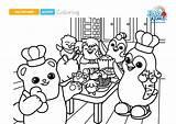 Coloring Badanamu Dinner Sheet Fall Week Let Below Link sketch template