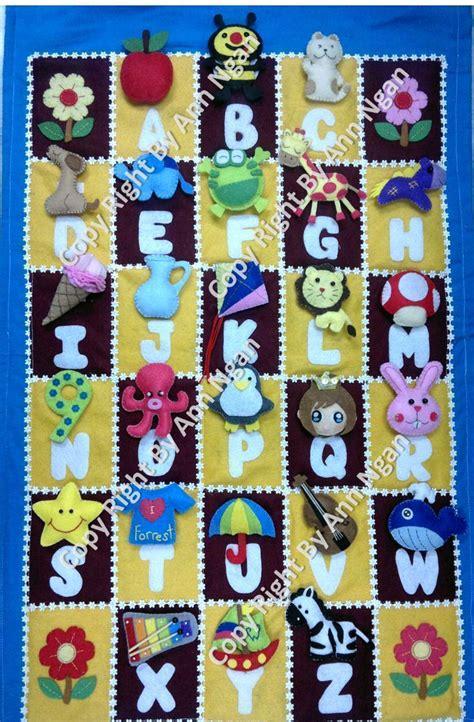 felt alphabet hanging matching games  board game piece