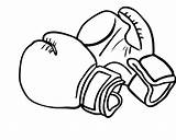 Gloves Coloring Boxing Glove Pages Printable Drawings Clipart Drawing Kidsdrawing Party Drawn Christmas Clip Mini Cricut Colouring Wrestling Cards Birthday sketch template