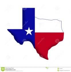 Texas State Flag Outline Clip Art