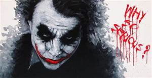 Heath Ledger Joker Why So Serious Pictures to Pin on ...