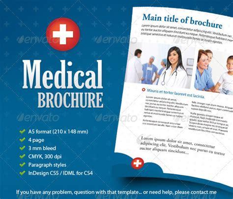 12 Free & Premium Medical Brochure Templates