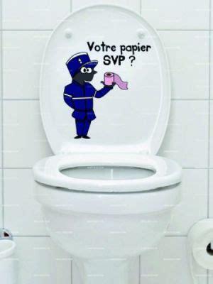 stickers wc lagent de police
