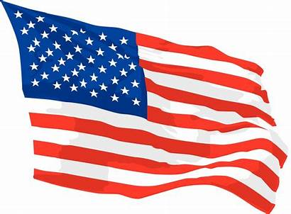 Flag American Background Waving Clipart America Independence