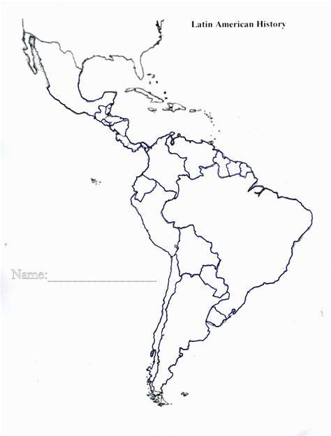 latin america map vector  getdrawingscom