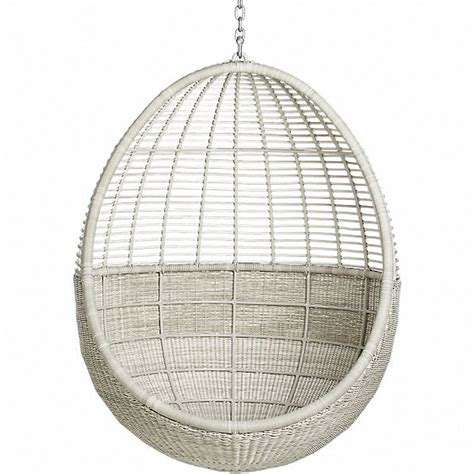 what i see a lot on hanging rattan chairs