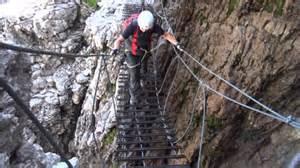 Via Ferrata Pyrénées by Via Ferrata Del Vallon Gruppo Del Sella Dolomiti Youtube