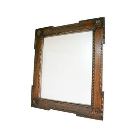 miroir en bois sculpte rustique en bois miroir sculpt 233 en acajou