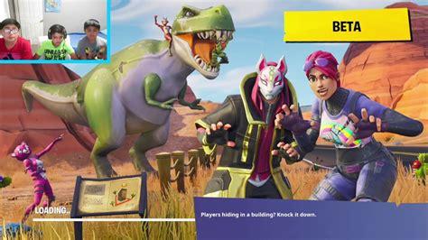 kids playing fortnite battle royale youtube