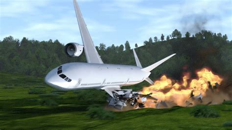Plane Crash Simulation, Also From Inside