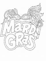 Mardi Gras Coloring Carnival Season Shovel Steam Pages Template sketch template