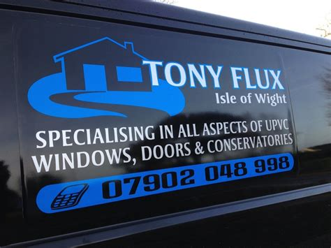 van  commercial vehicle signwriting isle  wight
