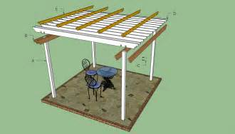 pergola plans free howtospecialist how to build step