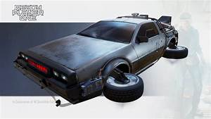 Ready Player One Parzival39s Delorean By JCulley3D 3D