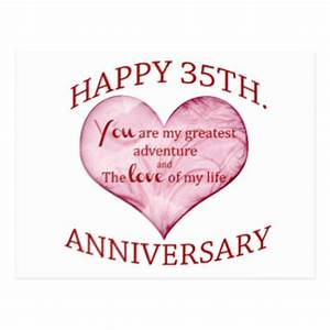 thirty fifth wedding anniversary gifts on zazzle With thirty fifth wedding anniversary gift