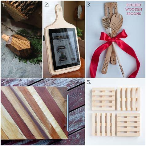 kitchen gifts ideas 30 wooden handmade gift ideas one woof