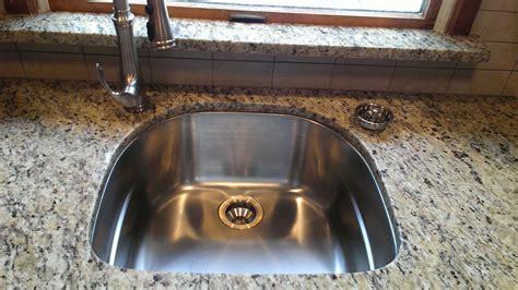 replace undermount kitchen sink